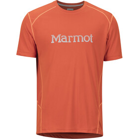 Marmot Windridge SS Shirt with Graphic Men, orange haze
